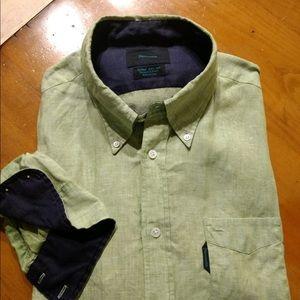 Faconnable Dress Shirt 2XL Tall